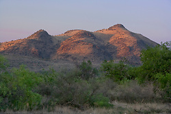 Stock photo of the Davis Mountain Range, Jeff Davis County, Texas