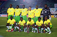 Togo Team Group 2005/06, lagbilde Togo teampicture<br /> 25th MTN Africa Cup Of Nations Egypt 2006<br /> Togo V RD DU Congo  21/01/06<br /> Photo Robin Parker Digitalsport<br /> Norway only