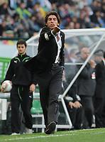 20120308: LISBON, PORTUGAL -  UEFA Europa League 2011/2012 - 1st Leg: Sporting CP vs Man. City.<br /> In photo: coach Ricardo Sa Pinto<br /> PHOTO: Alvaro Isidoro/CITYFILES