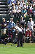 2001 Weetabix Women's British Open, Sunningdale Golf Course, Berks, Great Britain<br />  <br /> [Mandatory Credit Peter Spurrier/Intersport Images]<br /> <br /> Friday 3rd August 2001<br /> Weetabix Women's British Open<br /> <br /> England's Trish Johnson.