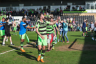 Forest Green Rovers Christian Doidge(9) during the EFL Sky Bet League 2 match between Forest Green Rovers and Chesterfield at the New Lawn, Forest Green, United Kingdom on 21 April 2018. Picture by Shane Healey.