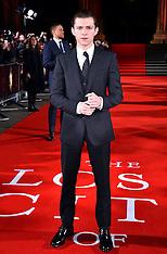 London: The Lost City of Z UK Premiere - 16 Feb 2017