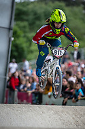 #911 (SHRIEVER Bethany) GBR at Round 6 of the 2019 UCI BMX Supercross World Cup in Saint-Quentin-En-Yvelines, France