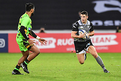 Ospreys' Owen Watkin in action during todays match<br /> <br /> Photographer Craig Thomas/Replay Images<br /> <br /> EPCR Champions Cup Round 4 - Ospreys v Northampton Saints - Sunday 17th December 2017 - Parc y Scarlets - Llanelli<br /> <br /> World Copyright © 2017 Replay Images. All rights reserved. info@replayimages.co.uk - www.replayimages.co.uk