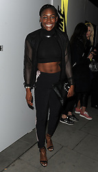 British track and field athlete Perri Shakes-Drayton attends the Nike x Sacai - VIP launch at Collins' Music Hall in London, UK. 17/03/2015<br />BYLINE MUST READ : GOTCHAIMAGES.COM<br /><br />Copyright by © Gotcha Images Ltd. All rights reserved.<br />Usage of this image is conditional upon the acceptance <br />of Gotcha Images Ltd, terms and conditions available at<br />www.gotchaimages.com