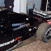 Presentatie Christian Albers wagen sponsor, F1 Minardi
