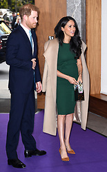 The Duke and Duchess of Sussex attending the annual WellChild Awards at The Royal Lancaster Hotel, London. Photo credit should read: Doug Peters/EMPICS