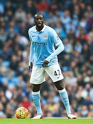 Yaya Toure of Manchester City  - Mandatory byline: Matt McNulty/JMP - 07966 386802 - 31/10/2015 - FOOTBALL - City of Manchester Stadium - Manchester, England - Manchester City v Norwich City - Barclays Premier League