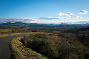 Cycling in the Basque Country, France