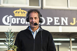 July 12, 2017 - Surfing legend Shaun Tomson of South Africa will be giving commentry during the Corona Open J-Bay...Corona Open J-Bay, Eastern Cape, South Africa - 12 Jul 2017. (Credit Image: © Rex Shutterstock via ZUMA Press)