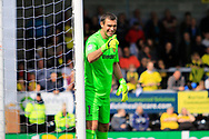 Burton Albion goalkeeper Stephen Bywater (1) during the EFL Sky Bet Championship match between Burton Albion and Cardiff City at the Pirelli Stadium, Burton upon Trent, England on 5 August 2017. Photo by Richard Holmes.