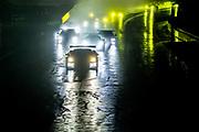 October 10, 2020. IMSA Weathertech, Charlotte ROVAL: Start of the Imsa race led by #3 Corvette Racing Corvette C8.R, GTLM: Antonio Garcia, Jordan Taylor