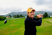 Simon Alliss pictured on the 18th tee box as preparations continue for the 3 Irish Open over the Killeen Course at Killarney Golf Club this week..Picture by Don MacMonagle