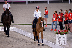 Hester Carl, En Vogue, Dujardin Charlotte, Gio<br /> Olympic Games Tokyo 2021<br /> © Hippo Foto - Dirk Caremans<br /> 21/07/2021