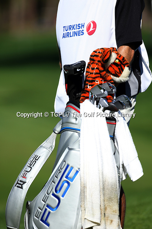 Tiger WOODS (USA) during second round Turkish Airlines Open by Ministry of Culture and Tourism 2013,Montgomerie Course at Maxx Royal,Belek,Antalya,Turkey.