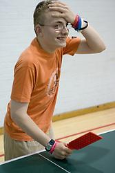 Boy playing Polybat,