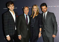 Douglas Booth, Tommy Hilfiger, Dee Ocleppo & Dominic Cooper at the opening of the new Tommy Hilfiger store on in London on Thursday 1st December 2011. Photo by: i-Images