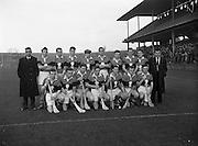 Fitzgibbon Cup Hurling Final, .UCD v UCC at Croke Park,.University College Cork.UCC.29.11.1959, 11.29.1959, 29th November 1959,