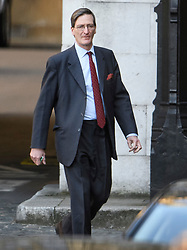 © Licensed to London News Pictures. 11/04/2019. London, UK. DOMINIC GRIEVE MP is seen leaving Parliament following a statement by the Prime Minister. British PM Theresa May was last night granted an extension to the date the UK will leave the EU, until October 31st of this year. Photo credit: Ben Cawthra/LNP