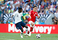 Ousmane Dembele (France) and Thomas Delaney (Denmark) <br /> Moscow 26-06-2018 Football FIFA World Cup Russia  2018 <br /> Denmark - France / Danimarca - Francia<br /> Foto Matteo Ciambelli/Insidefoto