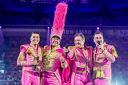 Jan Smit, Gerard Joling, Rene Froger, Jeroen van der Boom during the Toppers in Concert 2018 - Amsterdam, The Netherlands 26 may 2018. 26 May 2018 Pictured: Jan Smit, Gerard Joling, Rene Froger, Jeroen van der Boom during the Toppers in Concert 2018 - Amsterdam, The Netherlands 26 may 2018. Photo credit: MEGA TheMegaAgency.com +1 888 505 6342