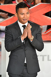 © Licensed to London News Pictures. 10/12/2017. TONY JAA attends the European film premiere of xXx: Return of Xander Cage. London, UK. Photo credit: Ray Tang/LNP