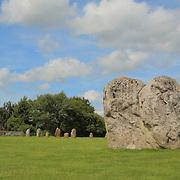 Avebury Chapel And Neolithic Stones - Avebury, UK