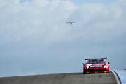 2012 FIA GT1 World Championship.Donington Park, Leicestershire, UK.27th - 30th September 2012Enzo Ide / Francesco Castellacci, Ferrari 458 Italia GT3..World Copyright: Jamey Price/LAT Photographic.ref: Digital Image Donington_FIAGT1-17670