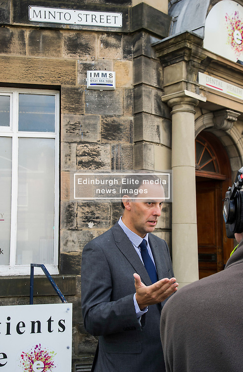 """Pictured: Detective Inspector Donnie MacLeod <br /> <br /> Police in Edinburgh have launched a fresh appeal for information following an indecent assault over the weekend.<br /> <br /> A 19-year-old woman was attacked in Salisbury Place as she was walking home at around 2.50 a.m. on Sunday 2nd October.<br /> <br /> The victim fought the suspect off, who then made off towards Minto Street and inquiries to trace this male are continuing.<br /> <br /> He is described as white, early thirties, 6ft tall with a large build and dark hair. He was wearing a red kilt, calf-high boots and a dark hooded top with numbers on the front.<br /> <br /> Following information from the public, detectives have established that the male visited the Marchmont Takeaway on Marchmont Road sometime between 7 p.m. and 9 p.m. on Saturday 1st October and anyone else who believes they may have information that can help identify him is urged to come forward.<br /> <br /> It has also been confirmed that the male walked from the city centre southwards along Newington Road, towards Salisbury Place.<br /> <br /> Detective Inspector Donnie MacLeod from the Public Protection Unit at Fettes said: """"Since the attack took place we have been conducting various inquiries in and around Salisbury Place to trace witnesses and establish the movements of the suspect before and after the incident.<br /> <br /> """"We are now satisfied that he was within the Marchmont area on Saturday evening before carrying out the attack, during which time he walked towards Salisbury Place from the direction of the city centre. <br /> <br /> """"I would ask anyone who believes they may have seen this individual on Saturday night, or the early hours of Sunday morning, or who knows where we can find him should contact police immediately.<br /> <br /> """"In addition, anyone with any further information relevant to this investigation is also asked to get in touch.""""<br /> <br /> Police have also increased patrols within the area and will have a"""