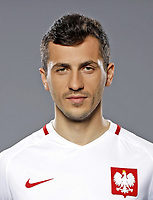 Uefa - World Cup Fifa Russia 2018 Qualifier / <br /> Poland National Team - Preview Set - <br /> Tomasz Jodłowiec