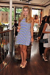 AMBER NUTTALL at a party to celebrate the launch of the new Mauritius Collection of jewellery by Forbes Mavros held at Patrick Mavros, 104-106 Fulham Road, London SW3 on 5th July 2011.