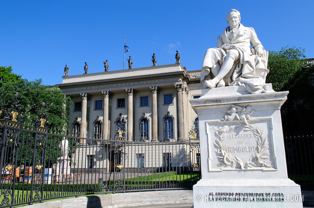 Main entrance of Humboldt University