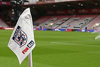 Football - 2018 / 2019 Under-21 International Friendly - England U21 vs. Germany U21<br /> <br /> An England corner flag stands proud at The Vitality Stadium (Dean Court) Bournemouth England<br /> <br /> COLORSPORT/SHAUN BOGGUST