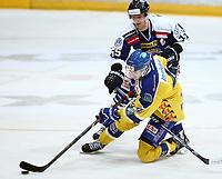 Ishockey , Get - ligaen ,<br /> 21.11.2013 <br /> Hamar OL-Amfi<br /> Storhamar  Dragons  v Sparta  1-3<br /> Foto:Dagfinn Limoseth  -  Digitalsport<br /> Logan Stephenson  , Sparta  og Nathan Martz , Storhamar