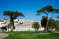 Maroc, Tanger, la medina et les jardins Mendoubia// Morocco, Tangier (Tanger), the medina, old city and Mendoubia garden