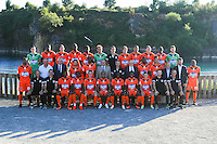Team of Laval during Laval squad photo call for the 2016-2017 Ligue 2 season on September, 7 2016 in Laval, France ( Photo by Philippe Le Brech / Icon Sport )