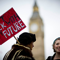 Student Protests - London 2