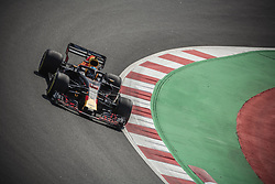 May 11, 2018 - Barcelona, Catalonia, Spain - DANIEL RICCIARDO (AUS) drives during the first practice session of the Spanish GP at Circuit de Catalunya in his Red Bull RB14 (Credit Image: © Matthias Oesterle via ZUMA Wire)