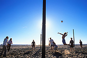 Beach Volleyball, Santa Monica Beach, California (LA)