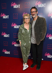 David Baddiel and wife Morwenna Banks attending the LATE NIGHT Gala Screening at Picture House Central, London. Picture dated: Monday May 20, 2019. Photo credit should read: Isabel Infantes / EMPICS Entertainment.