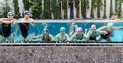 23.06.2017, Hotel Forsthofgut, Leogang, AUT, OeSV, Schwimmtraining Damen Speed Team, im Bild Tamara Tippler (AUT), Cornelia Hütter (AUT), Sabrina Maier (AUT), Nicole Schmidhofer (AUT), Ramona Siebenhofer (AUT), Mirjam Puchner (AUT), Christine Scheyer (AUT) // during a swimmtraining of the Austrian Ladies Speed Team at the Hotel Forsthofgut, Leogang, Austria on 2017/06/23. EXPA Pictures © 2017, PhotoCredit: EXPA/ JFK