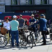 London Guided Tours at Trafalgar Square, on 27 June 2019, London, UK