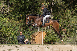 Valk Justus, NED, Fitzgerald<br /> CCI2*-S Arville 20202<br /> © Hippo Foto - Dirk Caremans<br />  22/08/2020
