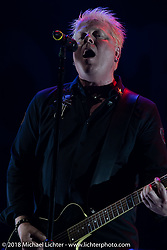Lead singer Dexter Holland of the punk rock band The Offspring headlined Saturday night at the Surf City Blitz and RSD Moto Beach Classic. Huntington Beach. Saturday October 27, 2018. Photography ©2018 Michael Lichter.