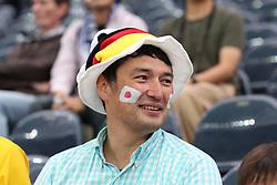 u13.07.2011, Commerzbank Arena, Frankfurt, GER, FIFA Women Worldcup 2011, Halbfinale,  Japan (JPN) vs. Schweden (SWE), im Bild Gute Laune bei den japanischen Fans.. // during the FIFA Women´s Worldcup 2011, Semifinal, Japan vs Sweden on 2011/07/13, Commerzbank Arena, Frankfurt, Germany.   EXPA Pictures © 2011, PhotoCredit: EXPA/ nph/  Mueller       ****** out of GER / CRO  / BEL ******