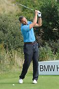 Een dag voor het KLM Open wordt de KLM pro Am gespeeld. Amateurs spelen gezamenlijk met een speler van de European Tour , sponsoren en genodigden op de toernooibaan van Kennemer Golf & Country Club .<br /> <br /> Op de foto:<br /> <br />  Marco van Basten <br /> <br /> The day before the KLM Open, the KLM pro Am games. Amateurs play together with one player from the European Tour, sponsors and invited guests at the tournament path of Kennemer Golf & Country Club.