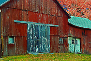 Red Barn Fall Foliage Tour The Berkshires New England