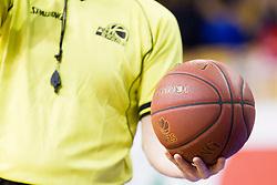 Ball during basketball match between KK Krka Novo Mesto and KK Tajfun Sentjur in Semifinal of Spar Slovenian Cup 2016, on February 19, 2016 in Hala Tivoli, Ljubljana, Slovenia. Photo by Urban Urbanc / Sportida.com
