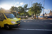 In Utrecht rijden bussen van U-OV, een merknaam van Qbuzz.<br /> <br /> Buses in Utrecht.