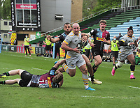 Rugby Union - 2020 / 2021 Gallagher Premiership - Round 18 - Harlequins vs Wasps - The Stoop<br /> <br /> Dan Robson of Wasps <br /> <br /> <br /> Credit : COLORSPORT/ANDRTEW COWIE